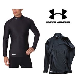 fb74e9e5dd8 Under Armour Shirts - UNDER ARMOUR Mens XL ColdGear Evo Compression Mock